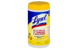 [LYS-80W] LYSOL DISENFECTING WIPES TUB (80CT)